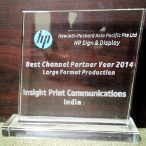 HP Best Channel Partner 2014 Large Format