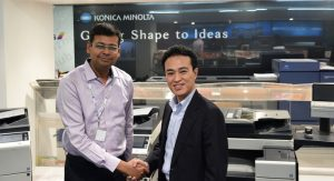 Konica Minolta ties up with Insight for label business