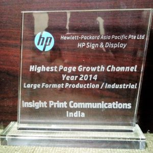 HP 2014 Highest page growth - large format