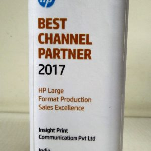 HP Best Channel Partner 2017 Large Format Sales Excellence