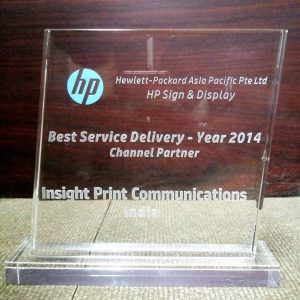 HP Best Service Delivery partner 2014